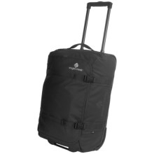 """Eagle Creek No Matter What Flatbed Rolling Duffel Bag - 22"""" in Black - 2nds"""