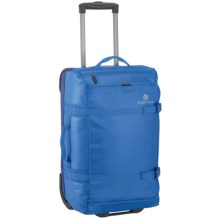 "Eagle Creek No Matter What Flatbed Rolling Duffel Bag - 22"" in Cobalt - 2nds"