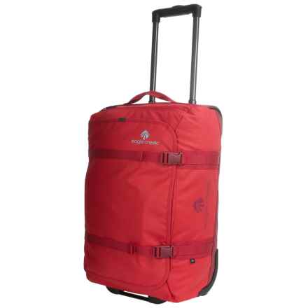 "Eagle Creek No Matter What Flatbed Rolling Duffel Bag - 22"" in Firebrick - 2nds"