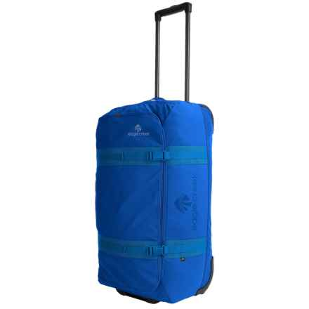 "Eagle Creek No Matter What Flatbed Rolling Duffel Bag - 28"" in Cobalt - Overstock"
