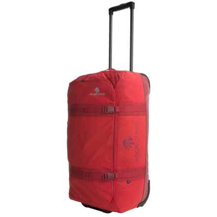 "Eagle Creek No Matter What Flatbed Rolling Duffel Bag - 28"" in Firebrick - Overstock"