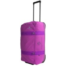 "Eagle Creek No Matter What Flatbed Rolling Duffel Bag - 28"" in Grape - 2nds"