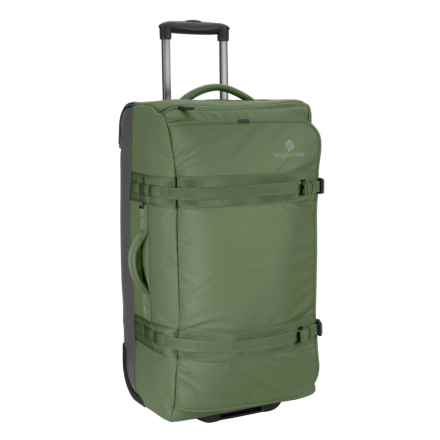 "Eagle Creek No Matter What Flatbed Rolling Duffel Bag - 28"" in Olive - Overstock"