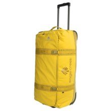 "Eagle Creek No Matter What Flatbed Rolling Duffel Bag - 32"" in Canary - 2nds"