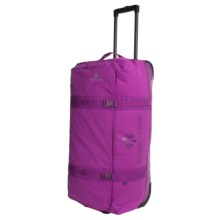 "Eagle Creek No Matter What Flatbed Rolling Duffel Bag - 32"" in Grape - 2nds"