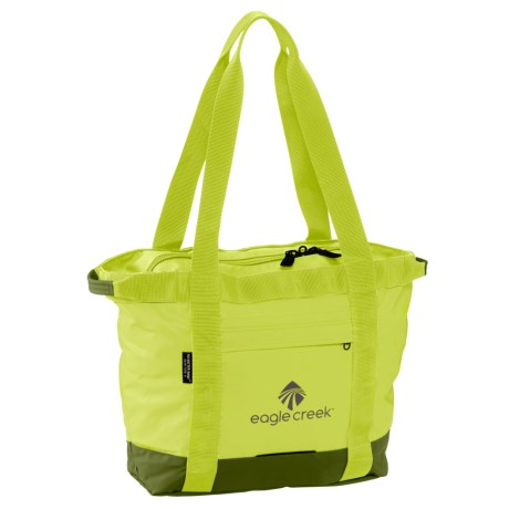 Eagle Creek No Matter What Gear Tote Bag - Small in Strobe Green