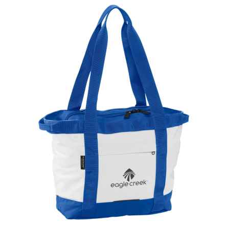 Eagle Creek No Matter What Gear Tote Bag - Small in White/Cobalt - Closeouts