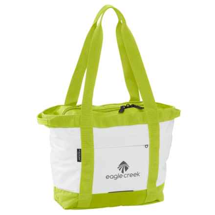 Eagle Creek No Matter What Gear Tote Bag - Small in White/Strobe Green - Closeouts