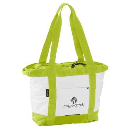 Eagle Creek No Matter What Gear Tote Bag - Small in White/Strobe Green - Closeouts
