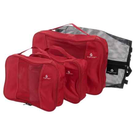 Eagle Creek Pack-It® Original Carry-On Set - 4-Piece in Red Fire - Closeouts