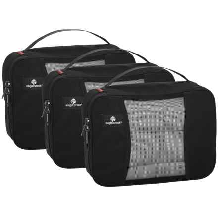 Eagle Creek Pack-It® Original Half Cube Set - 3-Pack in Black - Closeouts
