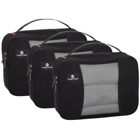 Eagle Creek Pack-It® Original Half Cube Set - 3-Pack in Black