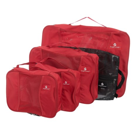 Eagle Creek Pack-It® Original Medium Carry-On Set - 5-Pack in Red Fire