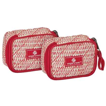 Eagle Creek Pack-It® Original Quilted Mini Cube Set - 2-Piece in Repeak Red - Closeouts