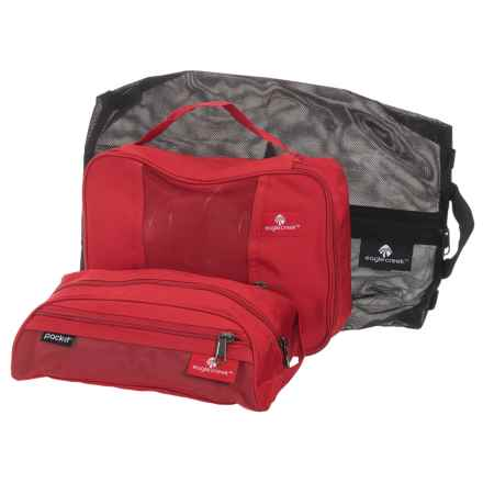 Eagle Creek Pack-It® Original Stow-N-Go Set - 3-Piece in Red Fire - Closeouts