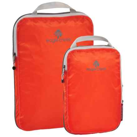 Eagle Creek Pack-It® Specter Compression Cube Set - 2-Piece in Flame Orange - Closeouts