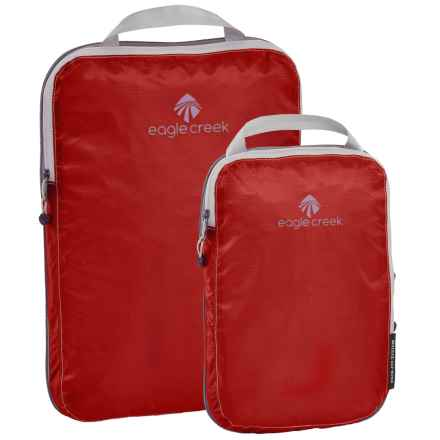 Eagle Creek Pack-It® Specter Compression Cube Set - 2-Piece in Volcano Red - Closeouts