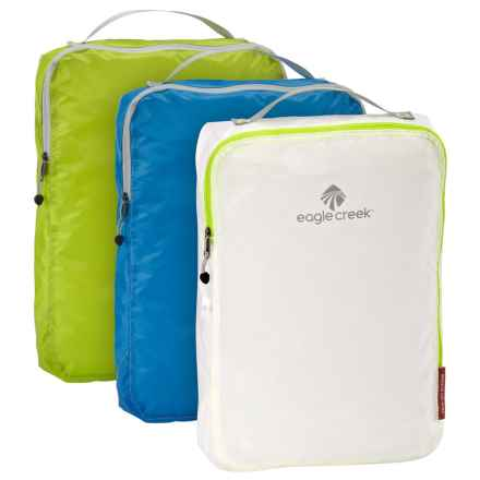 Eagle Creek Pack-It® Specter Cube Set - Full Size, 3-Pack in White/Blue/Green - Closeouts