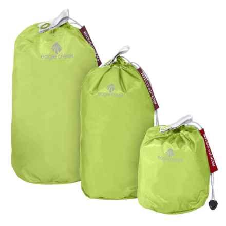 Eagle Creek Pack-It® Specter Stuffer Set - Mini, 3-Pack in Strobe Green - Closeouts