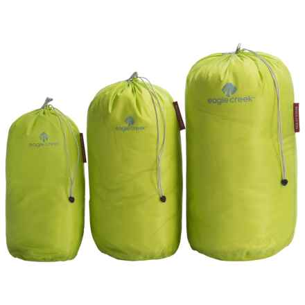 Eagle Creek Pack-It® Specter Stuffer Set - Small, Medium and Large in Strobe Green - Closeouts