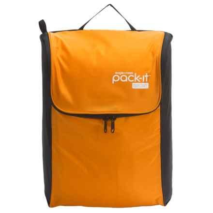 Eagle Creek Pack-It® Sport Fitness Locker - Large in Carrot/Black - Closeouts