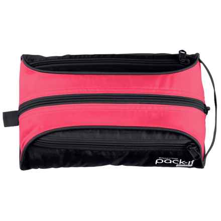 Eagle Creek Pack-It® Sport Quick Trip Toiletry Bag in Fuchsia/Black - Closeouts