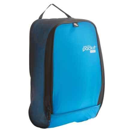Eagle Creek Pack-It® Sport Shoe Locker - Large in Blue/Black - Closeouts