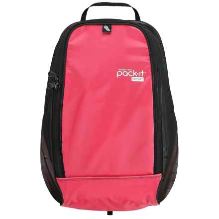 Eagle Creek Pack-It® Sport Shoe Locker - Large in Fuchsia/Black - Closeouts