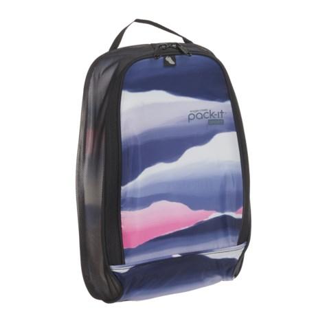 Eagle Creek Pack-It® Sport Shoe Locker - Large in Horizon Pink