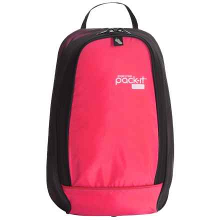 Eagle Creek Pack-It® Sport Shoes Locker Bag in Fuchsia/Black - Overstock