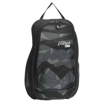 Eagle Creek Pack-It® Sport Shoes Locker Bag in Geo Scape Black - Overstock