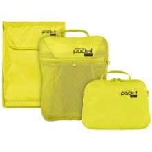 Eagle Creek Pack-It® Sport Travel Bag Set - 3-Piece in Strobe Yellow - Closeouts