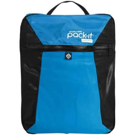 Eagle Creek Pack-It® Sport Wet Dry Fitness Locker in Blue/Black - Closeouts