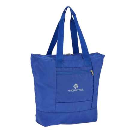 Eagle Creek Packable 29L Tote Bag in Blue Sea - Closeouts