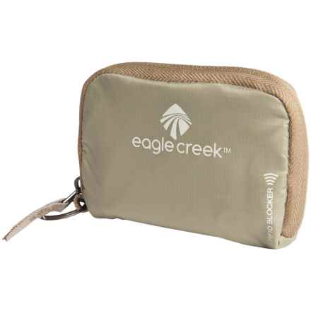 Eagle Creek RFID-Blocker Zip Stash Pouch in Tan - Closeouts