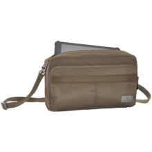 Eagle Creek RFID Mini Tablet Crossbody Bag in Taupe - Closeouts