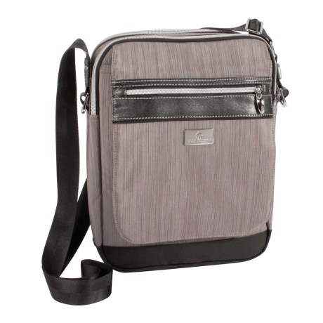 Eagle Creek Roz Courier Bag (For Women) in Dove Stratus