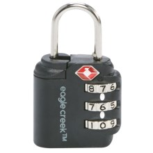Eagle Creek Superlight Signal Search TSA Lock in Graphite - Closeouts