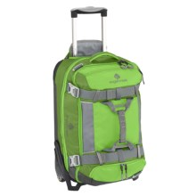 "Eagle Creek Tandem Warrior Rolling Duffel Bag - 22"", Detachable Pack in Cactus Green - Closeouts"