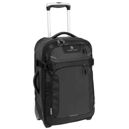 "Eagle Creek Tarmac Rolling Carry-On Suitcase - 20"" in Black - Closeouts"