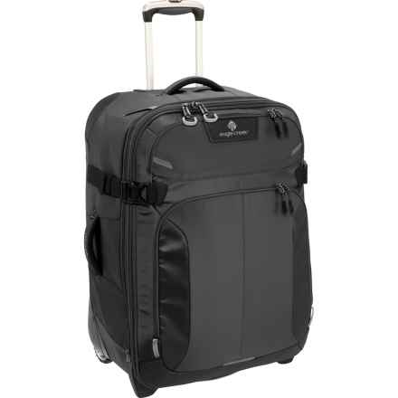 "Eagle Creek Tarmac Rolling Suitcase - 28"" in Black - Overstock"