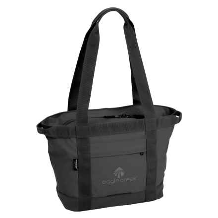 "Eagle Creek Travel Gateway Tote Bag - 11-3/4x13x6"" in Black - Closeouts"