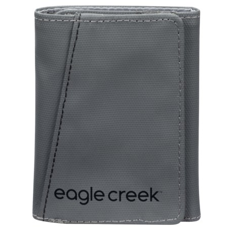 Eagle Creek Trifold Wallet in Stone Grey