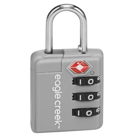 Eagle Creek Ultralight TSA Lock in Silver