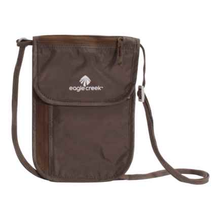 Eagle Creek Undercover DLX Neck Wallet in Mocha - Closeouts