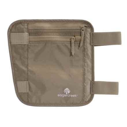 Eagle Creek Undercover Leg Wallet in Khaki - Overstock