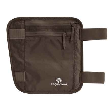 Eagle Creek Undercover Leg Wallet in Mocha - Closeouts