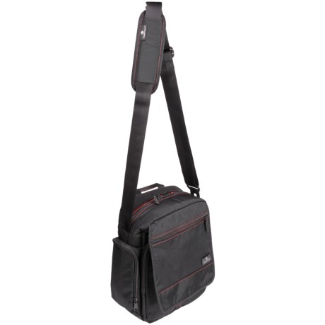 Eagle Creek Vagabond Courier Bag in Black