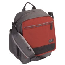 Eagle Creek Vagabond Courier Bag in Red Clay/Grey - Closeouts