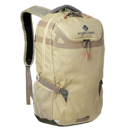 Eagle Creek XTA 24L Backpack in Tan/Olive - Closeouts